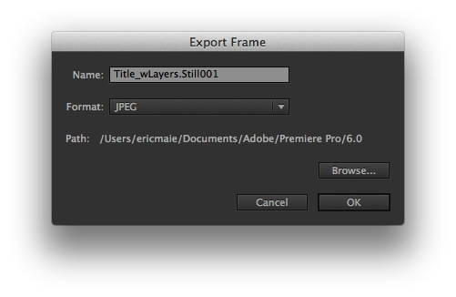 premiere pro how to change sequence settings
