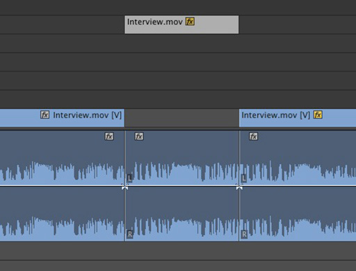 how to cut up clips in adobe premiere