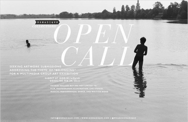 Open Call: Artwork Submissions for Nomadique Exhibition