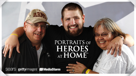 Portraits of Heroes at Home